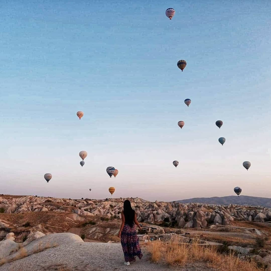 cappadocio hot air balloon